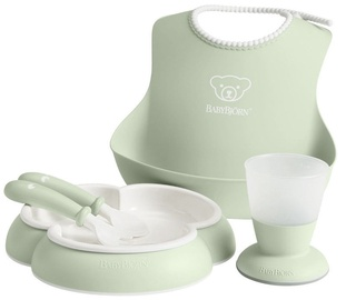 BabyBjorn Dinner Set Powder Green 070061