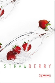 Herlitz Hardback Notebook A5 Fresh Fruit Strawberry