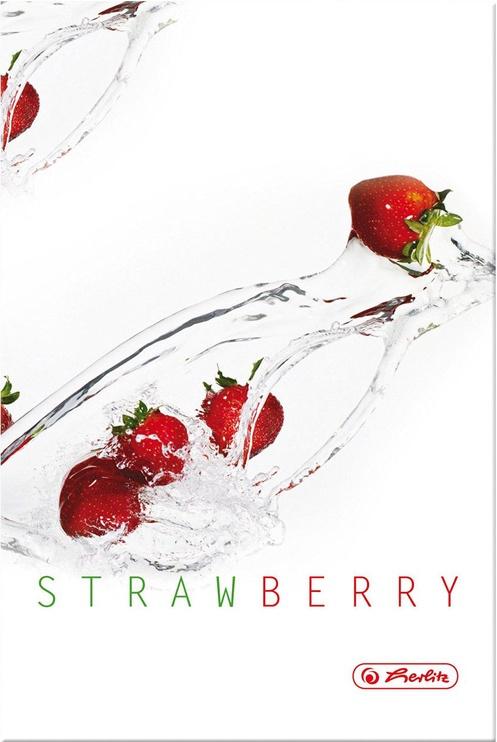 Herlitz Hardback Notebook A5 Fresh Fruit Strawberry