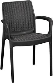 Sodo kėdė 206056, tamsiai pilka