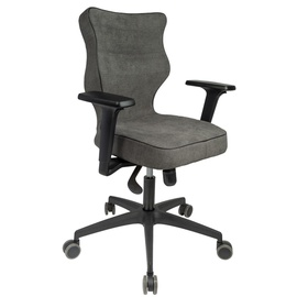 Entelo Perto Black AT33 Office Chair Grey