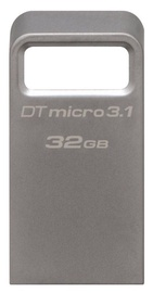 Kingston 32GB DataTraveler Micro Memory Stick USB 3.1 Silver