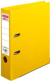 Herlitz Max File A4/8cm Yellow