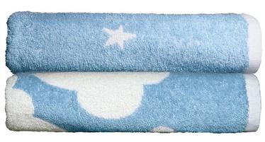 Полотенце Ardenza Clouds Stars, синий/белый, 70x120 см, 2 шт.