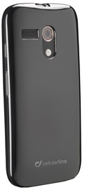 Cellular Line Shocking Back Case Motorola Moto G Black
