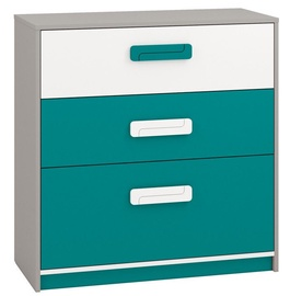 ML Meble Chest Of Drawers IQ 10 Turquoise