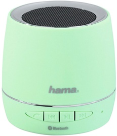 Belaidė kolonėlė Hama Mobile Bluetooth Speaker Mint Green