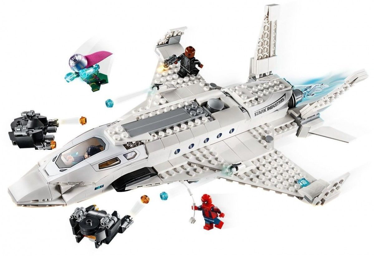Конструктор Lego Super Heroes Stark Jet and the Drone Attack 76130 ...
