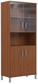 Skyland Born Office Bookshelf B 430.10 90х45х205.4cm Garda Walnut