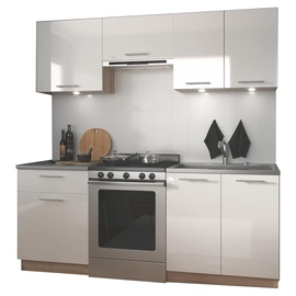 Halmar Marija 200 Kitchen Set Sonoma Oak/White