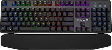 Žaidimų klaviatūra Krux Meteor RGB Outemu Blue EN