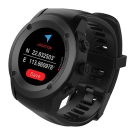 Išmanusis laikrodis Fitgo FW17, juodas