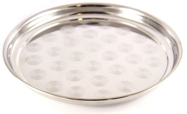 Sharada Round Serving Tray With Drawing D30cm