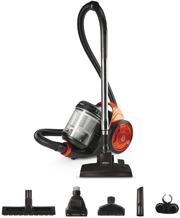 Dulkių siurblys Polti Forzaspira C130 Plus PBEU0102 Black/Orange