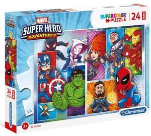 Clementoni Maxi Puzzle Marvel Super Hero Adventures 24pcs 24208