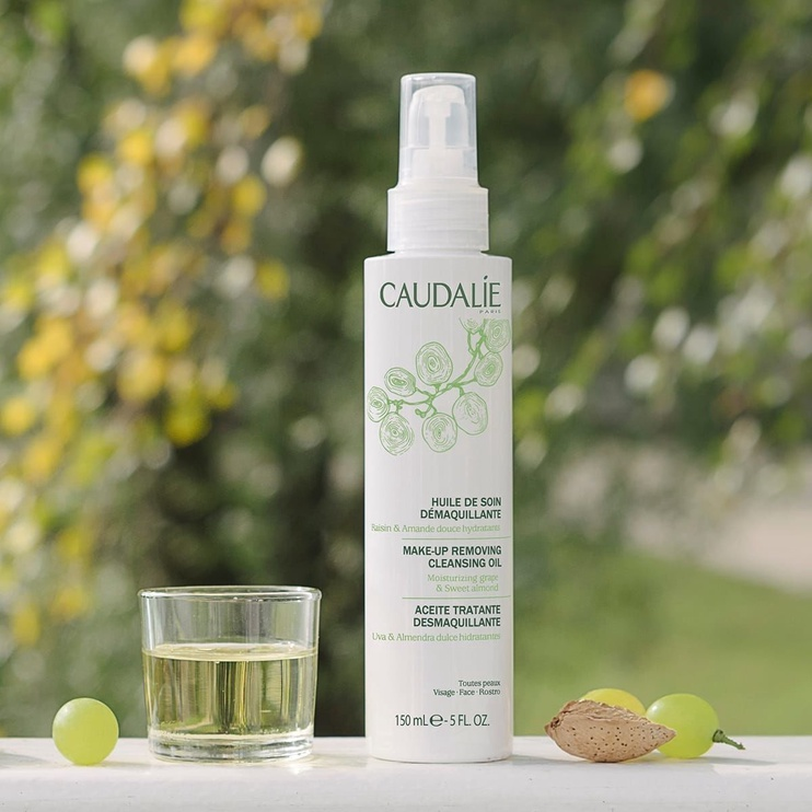 Makiažo valiklis Caudalie Make Up Removing Cleansing Oil, 150 ml