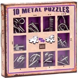 Lauamäng Eureka! 10 Metal Puzzle Violet
