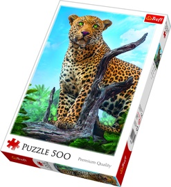 Puzle Trefl Wild Leopard 37332, 500 gab.