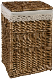 Home4you	Laundry basket MAX 1 44x39xH59cm Brown Lace