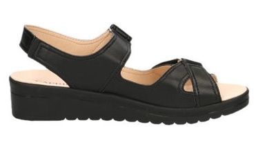 Caprice Sandals 9/9-28210/22 Black Nappa 38