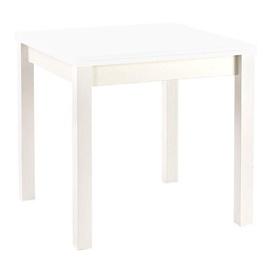 Обеденный стол Halmar Gracjan, белый, 760x800x760мм