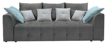 Black Red White Royal IV Mega Lux 3DL Sofa Grey