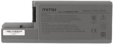 Mitsu Battery For Dell Latitude D820 6600mAh