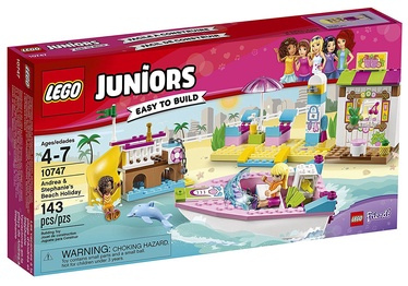 Konstruktors LEGO Juniors Andrea & Stephanies Beach Holiday 10747