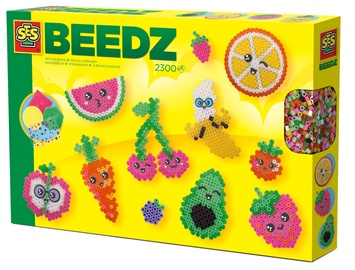 SES Creative Beedz Iron On Beads Kawaii Fruit 06266