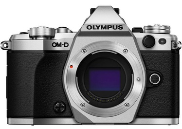 Olympus OM-D E-M5 Mark II Silver + 12-40mm F2.8 Lens Black