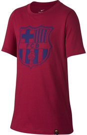 Nike FC Barcelona Crest T-Shirt 859192620 Red S