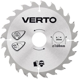 Verto Circular Saw Blade 160x30mm 24T