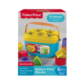 """Žaislas """"Pirmosios kūdikio kaladėlės"""" Fisher Price FFC84"""