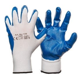 DD Nylon Knitted Gloves With Smooth Nitrile Coating 9
