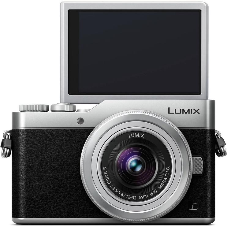 Panasonic Lumix DC-GX800 + 12-32mm + 35-100mm Kit Black/Silver