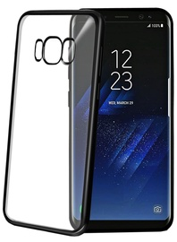 Celly Laser Back Case For Samsung Galaxy S8 Plus Black