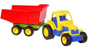 Verners Tractor With Trailer 208