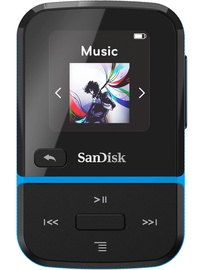 Muusikamängija Sandisk Sport Go Blue, 16 GB