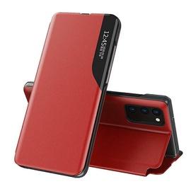 Чехол Mocco Smart Flip For Samsung Galaxy S21 Ultra, красный