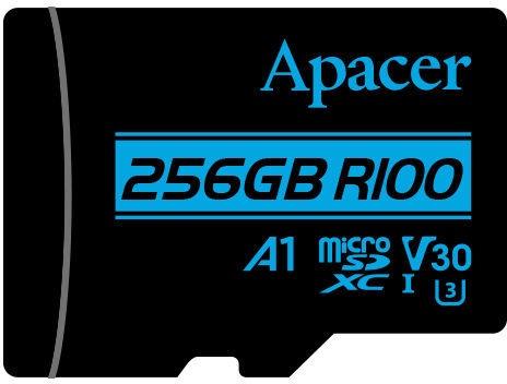 Apacer 256GB microSDXC UHS-I U3 V30 w/Adapter