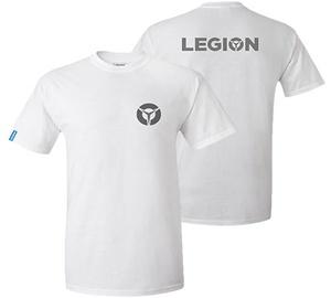 Футболка с короткими рукавами Lenovo Legion White, белый, M