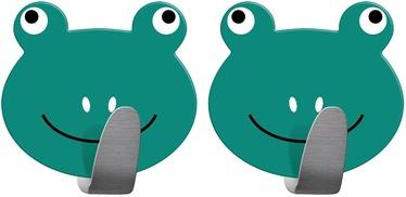 Tatkraft Frogs Adhesive Hooks 2 pcs