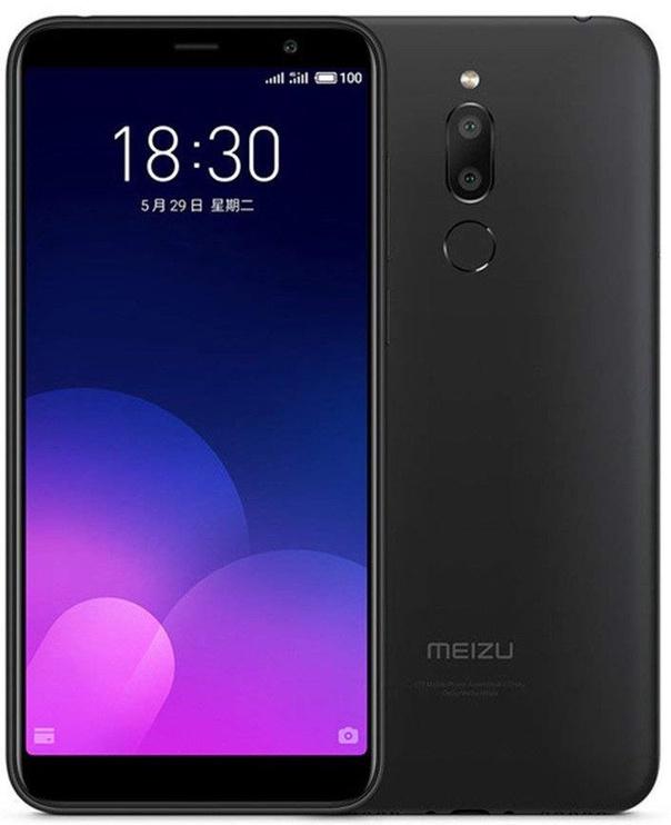 Mobilusis telefonas Meizu M6T Black, 16 GB