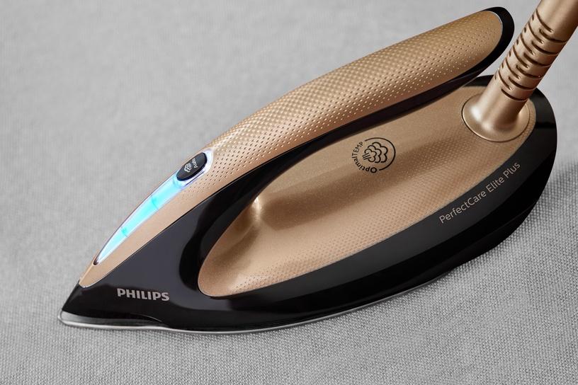 Гладильная система Philips PerfectCare Elite Plus GC9682/80, золотой/черный