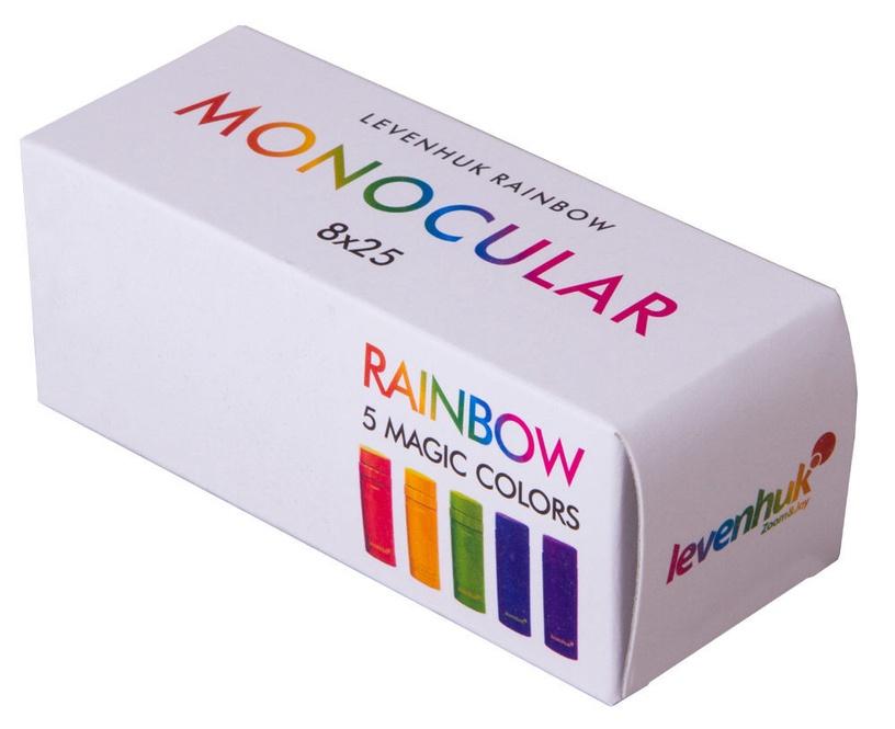 Levenhuk Rainbow 8x25 Monocular Blue Wave