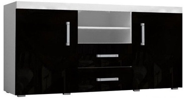 Cama Meble Samba Chest Of Drawers White Black
