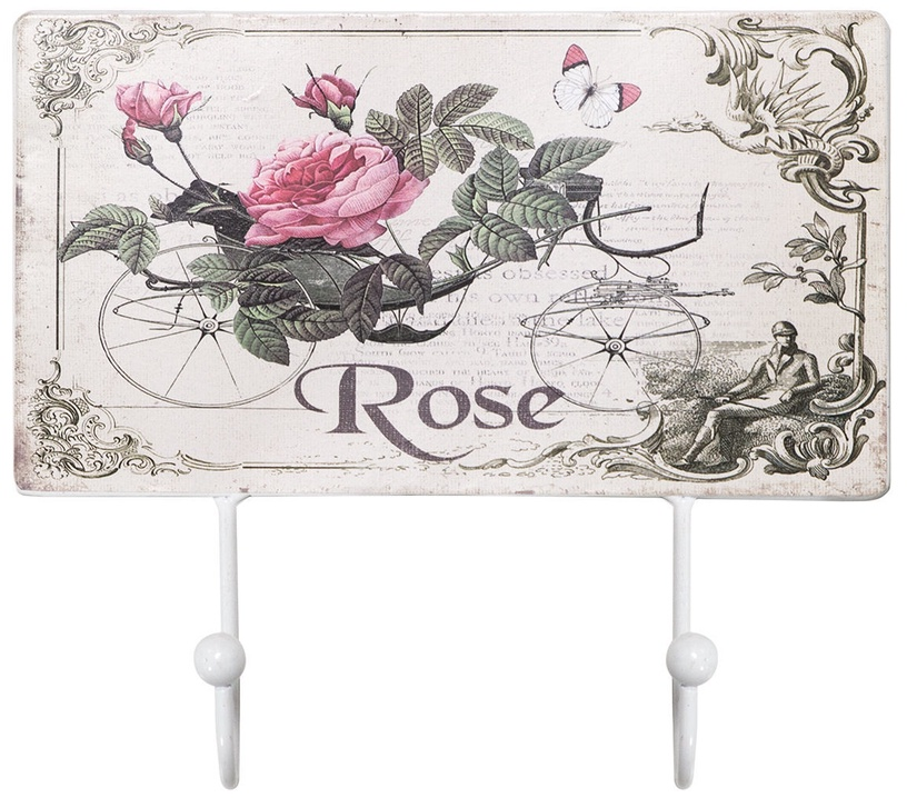 Home4you Wall Hanger Rose 70245