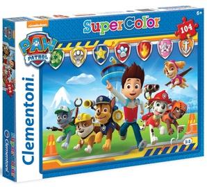 Clementoni Puzzle SuperColor Paw Patrol 104pcs 27945