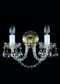 Sienas lampa Artglass Karin II 2x40W E14