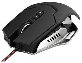 Spēļu pele Varr Pro X-Steel Metal, melna